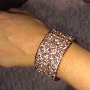 Jeweled bracelet bangle